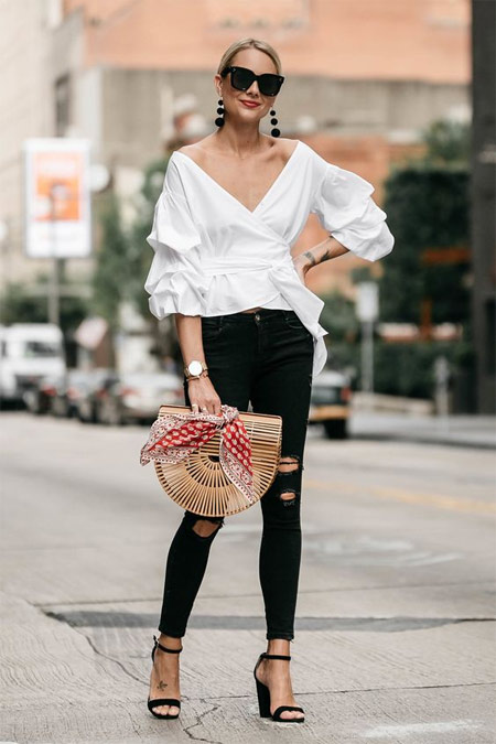 Плетеная соломенная сумка для лета 2018