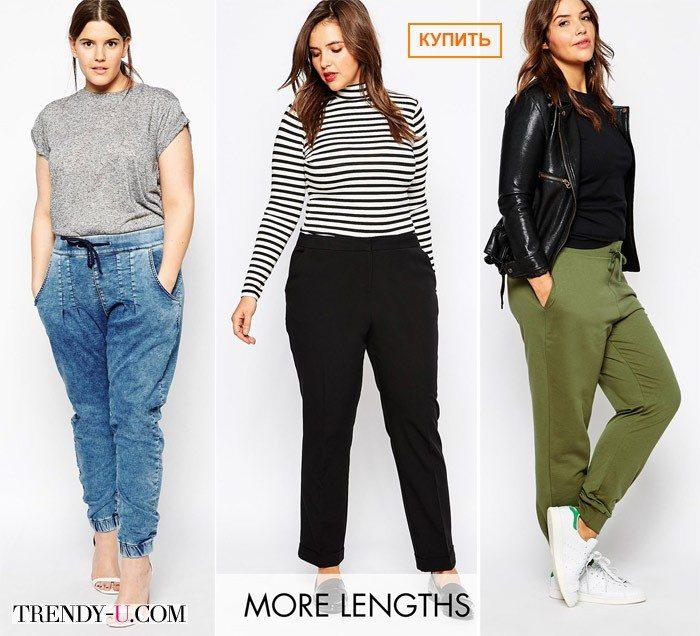 Стильные брюки весна-лето 2015 for curves