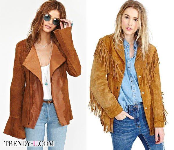 Замшевые куртки 2015