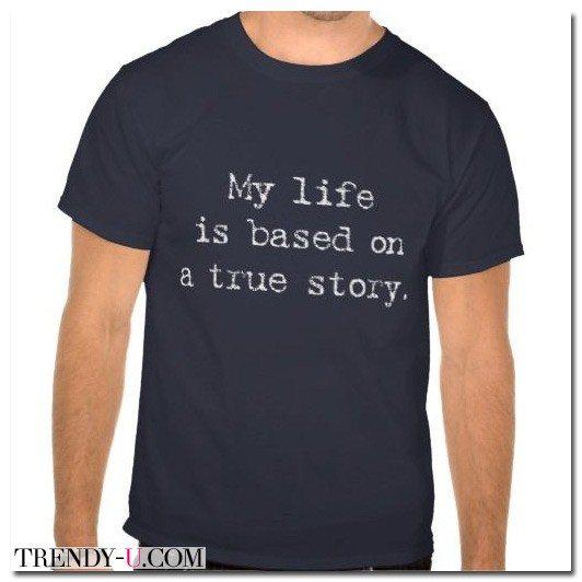 Модная мужская футболка со слоганом 2015