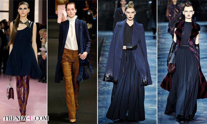 Модные луки от Christian Dior, Altuzarra и Mark Jacobs осень-зима 2015-2016