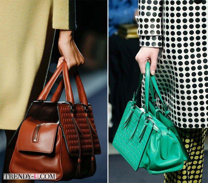 Модные сумки Bottega Veneta осень-зима 2015-2016