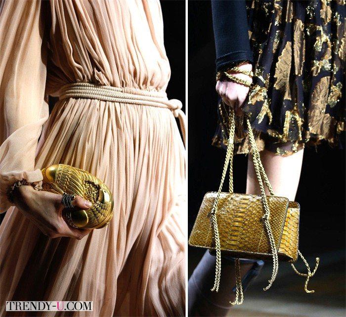 Клатч и театральная сумка от Lanvin