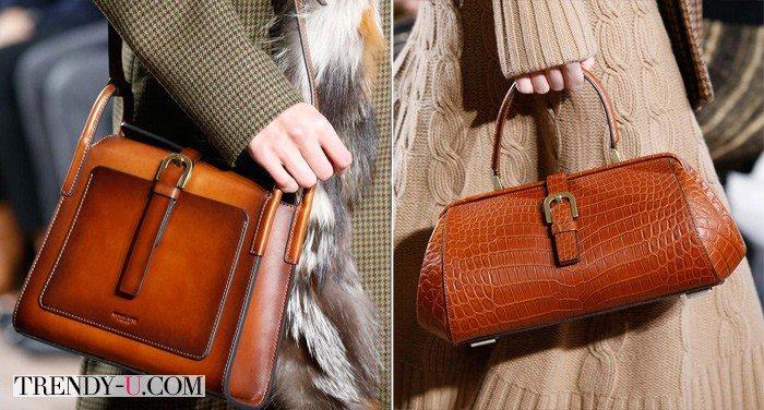 Кожаные сумки от бренда Michale Kors для осени и зимы 2015