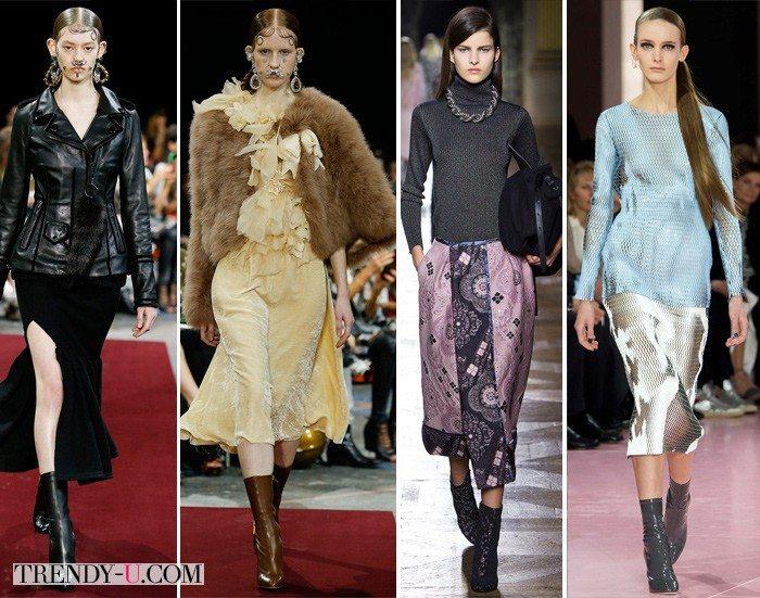 Ботильоны во французском стиле от Givenchy, Dries von Noten Christian Dior осень-зима 2015-2016