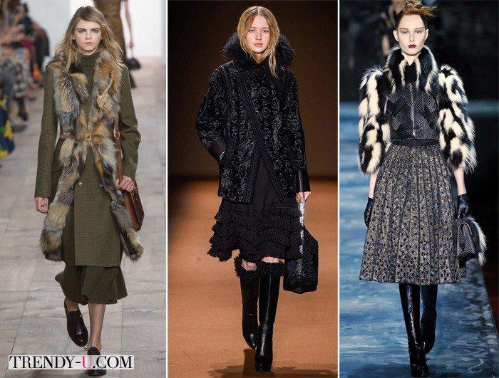 Модная зимняя одежда для зимы 2015-2016