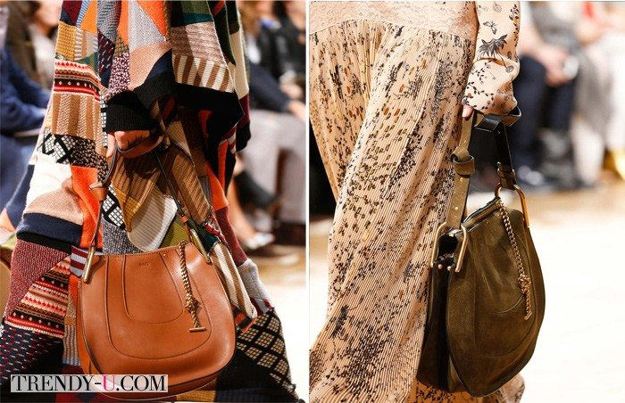Saddle bags by Chloé FW 2015