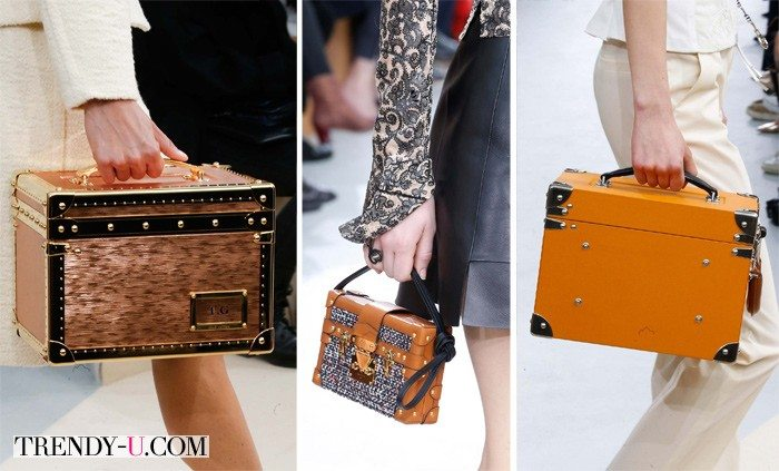 Сумки-чемоданчики Louis Vuitton осень-зима 2015-2016