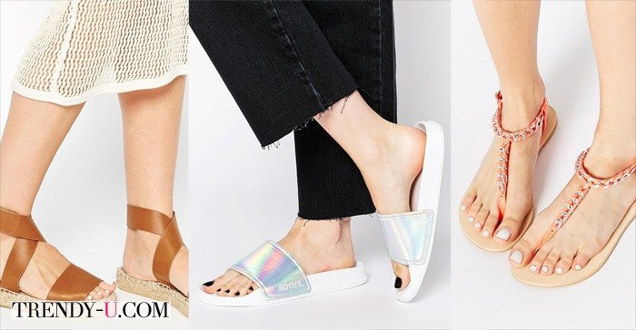 Стильная обувь для отпуска и на каждый день