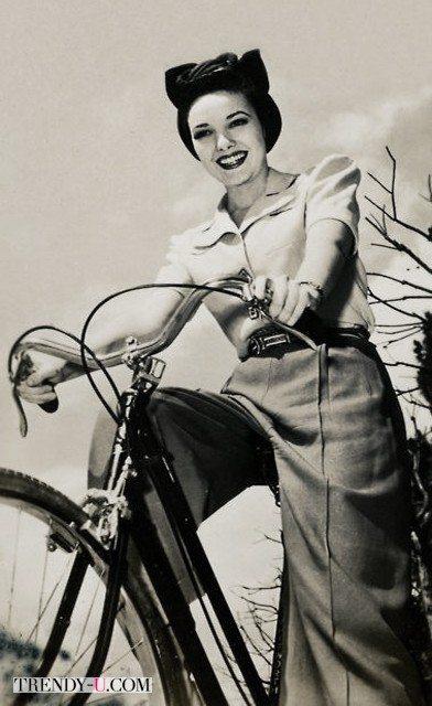Модница 40-х