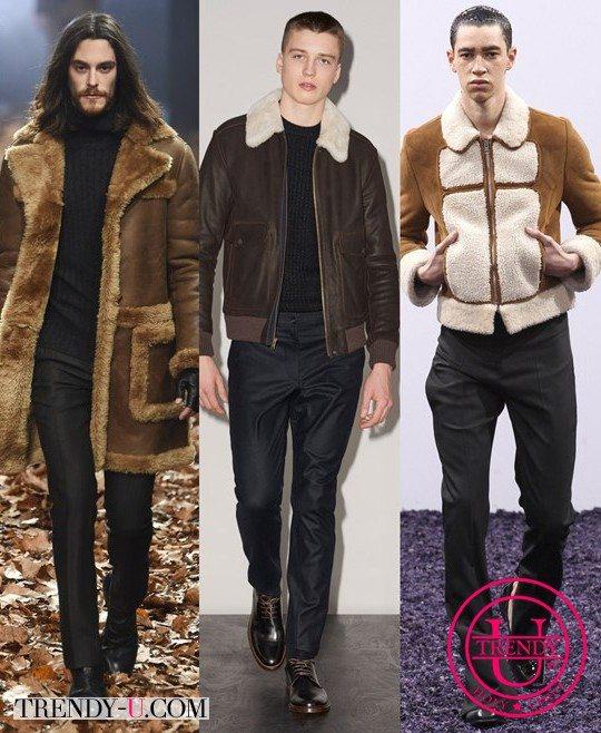 Модные мужские дубленки от John Varvatos, APC JW Anderson для зимы 2015