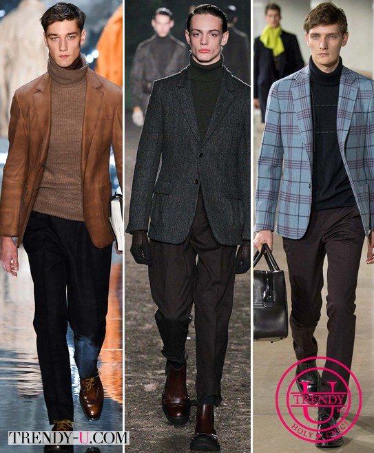 Модная мужская одежда Berlutti, Ermenegildo Zegna и Hermes осень-зима 2015-2016