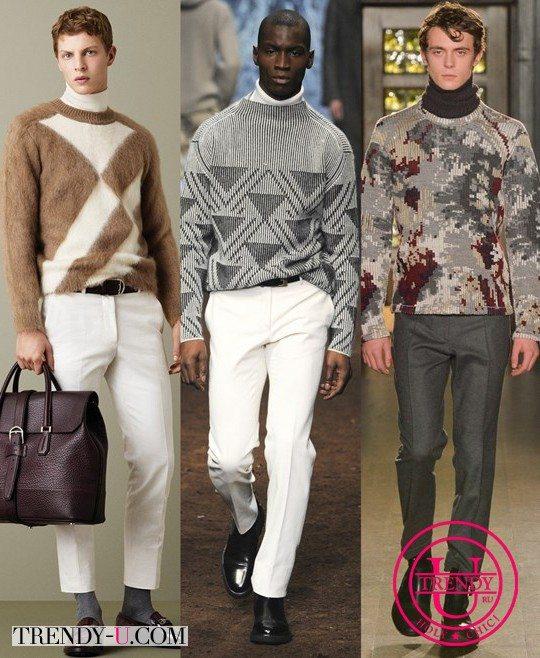 Мужские свитеры от Bally, Corneliani Pringle of Scotland для холодов 2015-2016