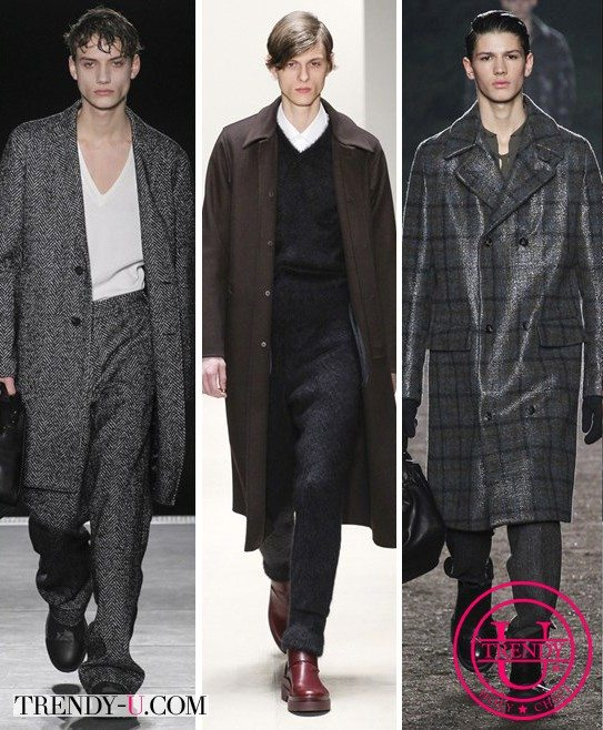 Мужские пальто осень 2015 от Wooyoungmi, Jil Sander и Ermenegildo Zegna Couture