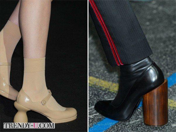 Модная обувь для осени 2015