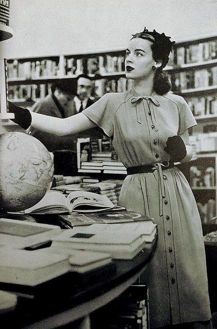 В библиотеке 40-х