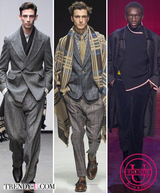 Модные мужские костюмы осень-зима 2015-2016 от E Tautz, Vivienne Westwood Man Maison Martin Magriela