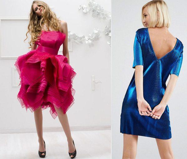 Платья на свадьбу для девушек модных цветов весны и лета 2017