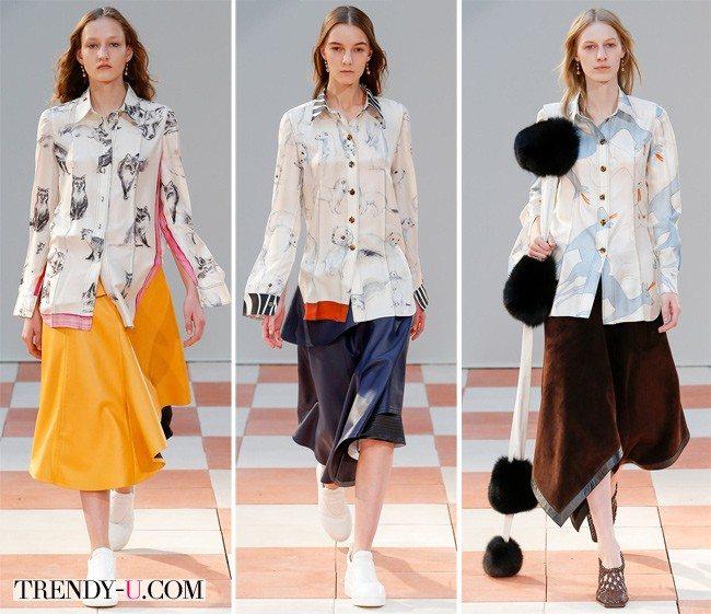 Модные блузки от Céline для осени и зимы 2015-2016