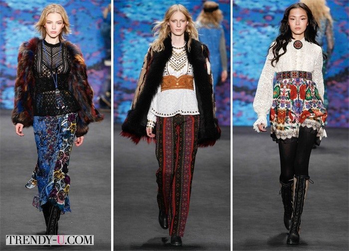 Модные кружевные блузки 2015