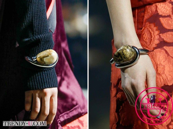 Браслеты Kenzo с камнем яшма для стильных образов осенью 2015