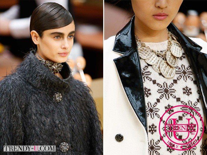 Стильные луки Chanel осень-зима 2015-2016