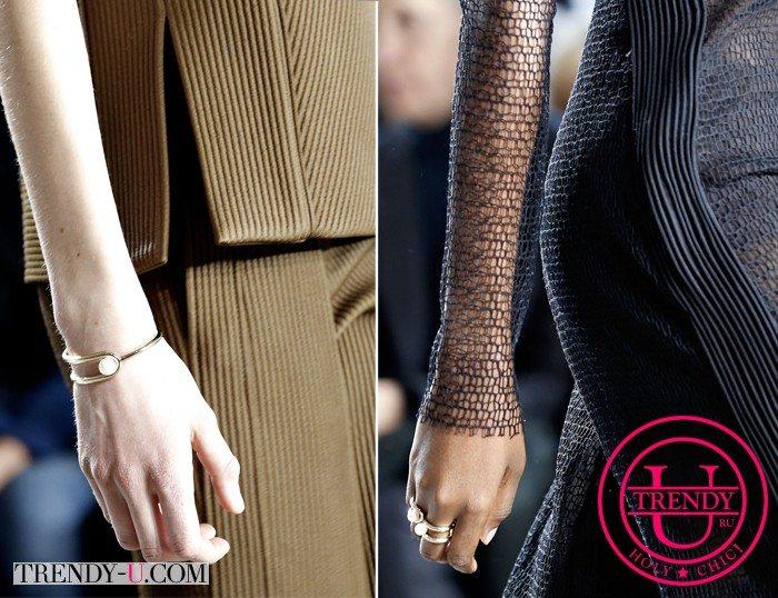 Браслет и кольцо с жемчугом - отличный выбор к стильному наряду