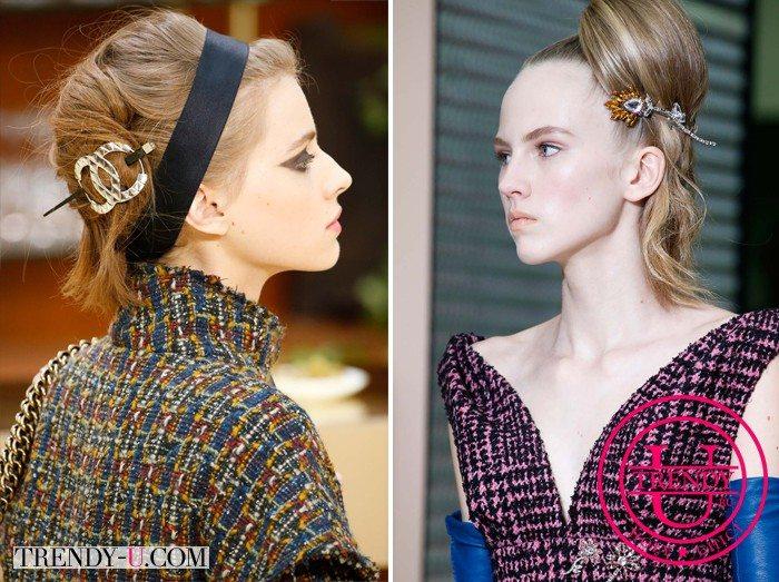 Модные украшения для волос осень-зима 2015-2016