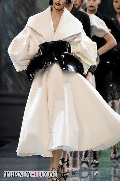 Пальто в стиле ретро 50-х, наши дни