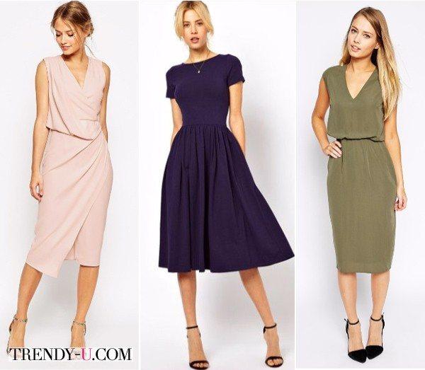 Фасоны платья для прямоугольной фигуры