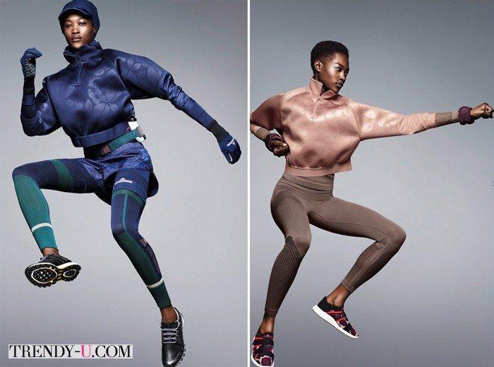 Модная одежда для спорта из коллекции Stella McCartney by Adidas FW 2015-2016