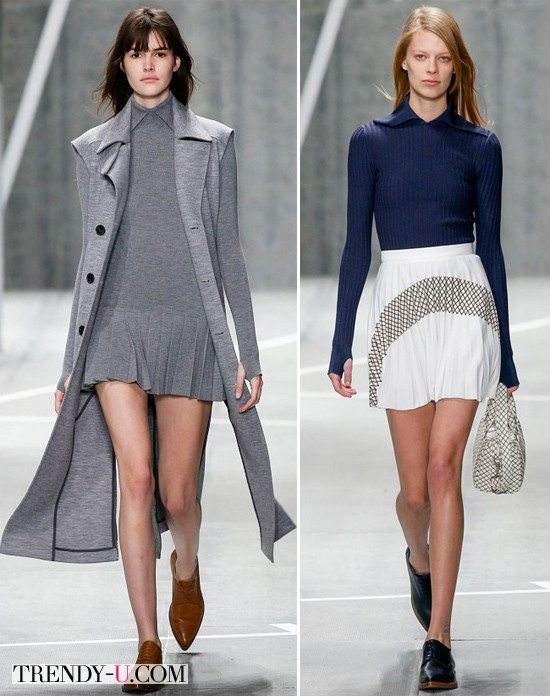 Модная спортивная одежда осень-зима 2015-2016 от Lacoste