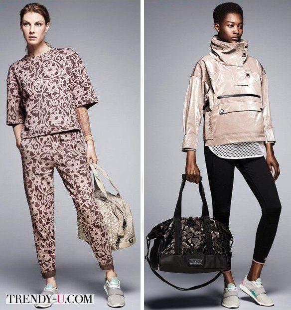 Adidas by Stella McCartney осень-зима 2015-2016: спортивная одежда на любой вкус – от стиля casual до футуристического
