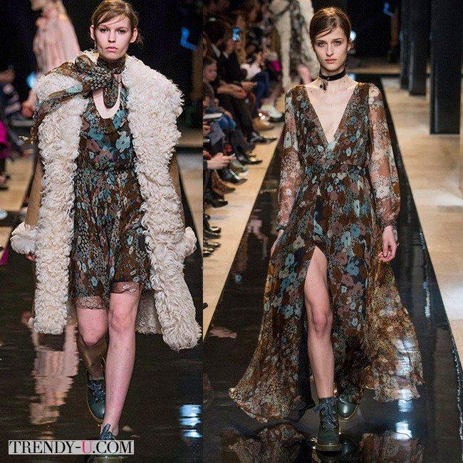 Платья из коллекции Paul&Joe осень-зима 2015-2016
