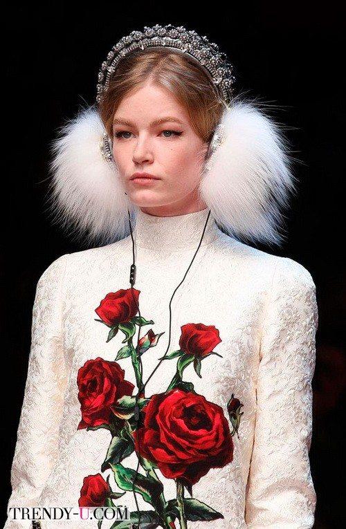 Модные наушники от Dolce&Gabbana