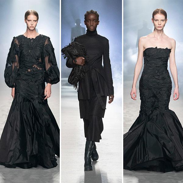 Модные вечерние платья Alberta Ferretti осень-зима 2021-2022