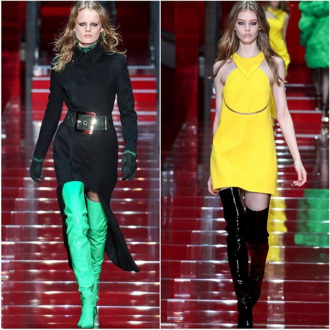 Ботфорты от Versace