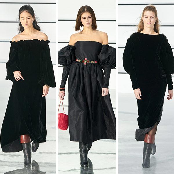 Платья из коллекции Chanel
