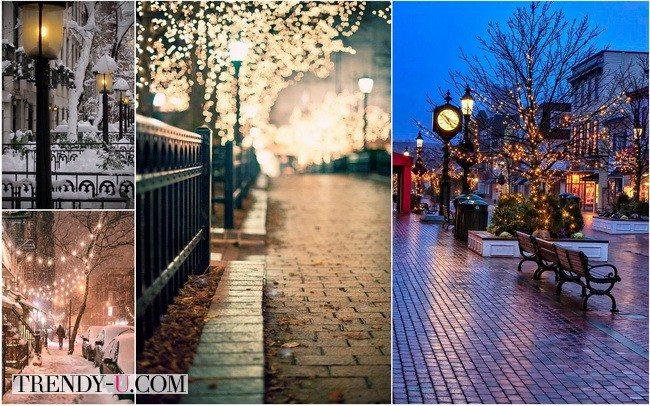 Романтическая прогулка в подарок девушке на Новый год 2016