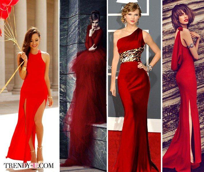 Красные платья понравятся Красной огненной обезьяне!