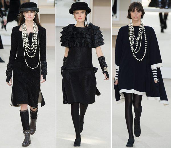 Черные маленькие платья Chanel