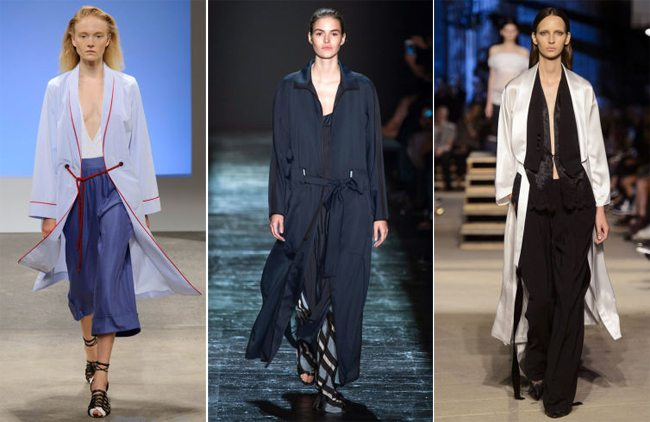 Модные кардиганы и кимоно весна-лето от Thakoon, Public School и Givenchy