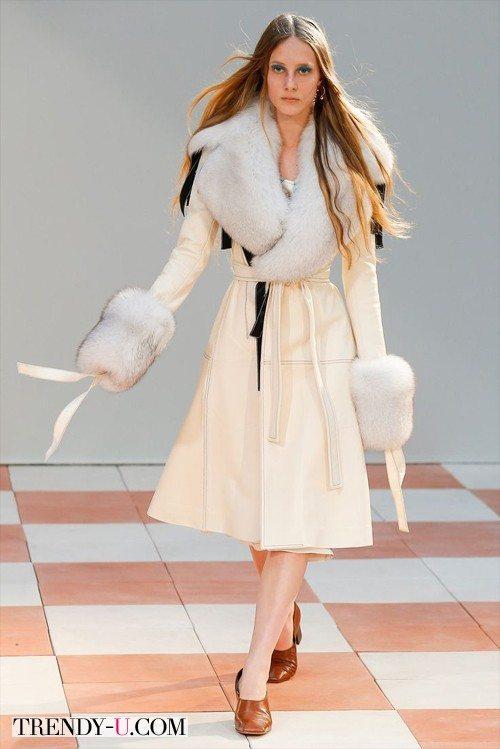 Модная дубленка Celine для зимы 2015-2016
