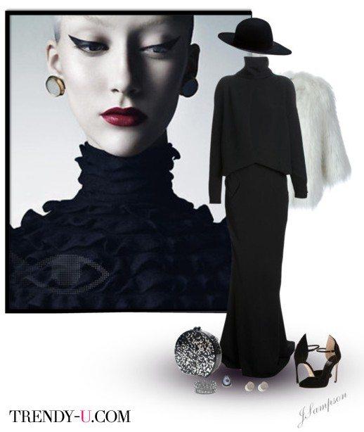 Платье и аксессуары на Новый год 2016