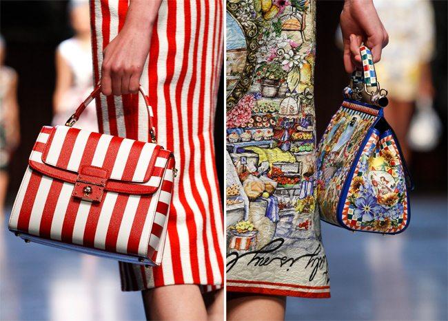 Dolce & Gabbana SS 2016: Платье как сумка или сумка как платье?