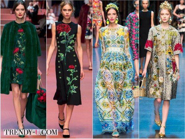 Новинки коллекций Dolce&Gabbana