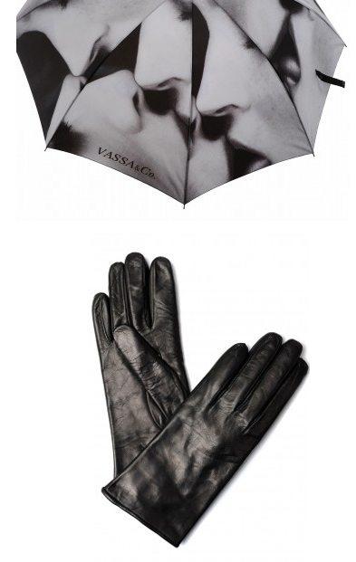 Зонт и перчатки от марки Vassa&Co