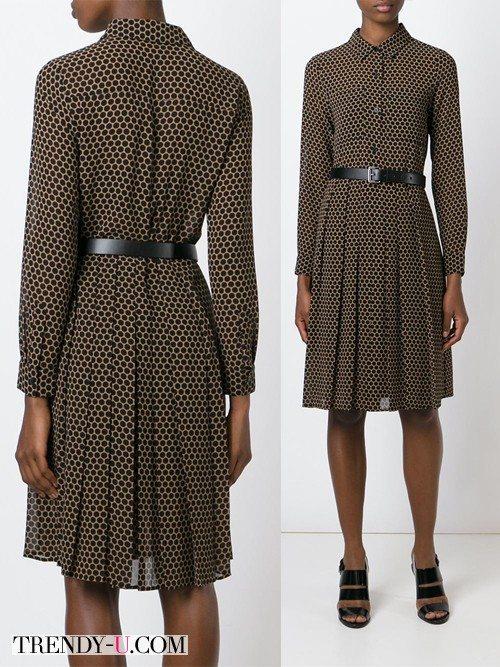 Платье в стиле ретро от Michael Michael Kors в интернет-магазине Farfetch