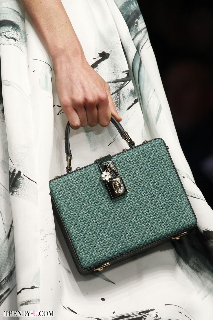 Модная сумка-коробочка, Dolce & Gabbana, Весна-лето 2016