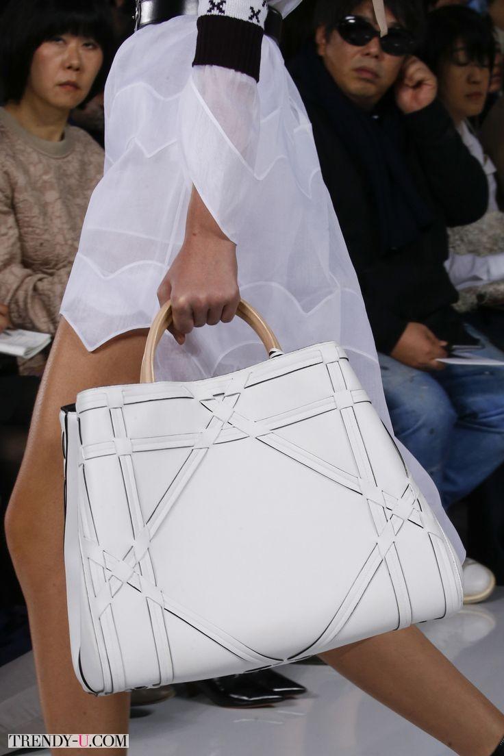Модная сумка-шопер, Christian Dior, весна-лето 2016